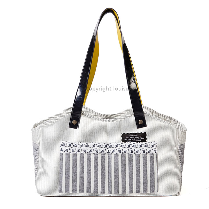 Breezy Stripes Shoulder Carrie Bag for dogs