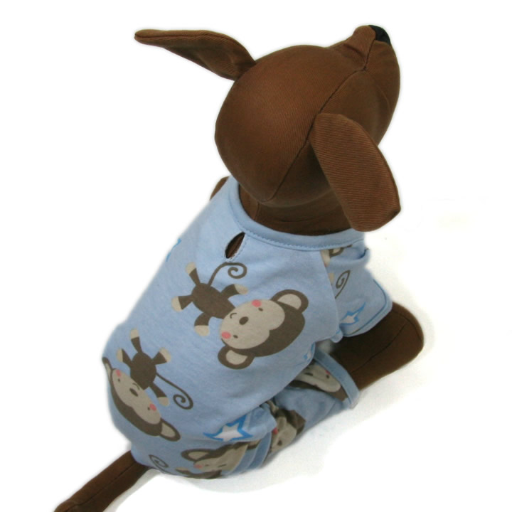 Cute Monkey Pajamas for dogs