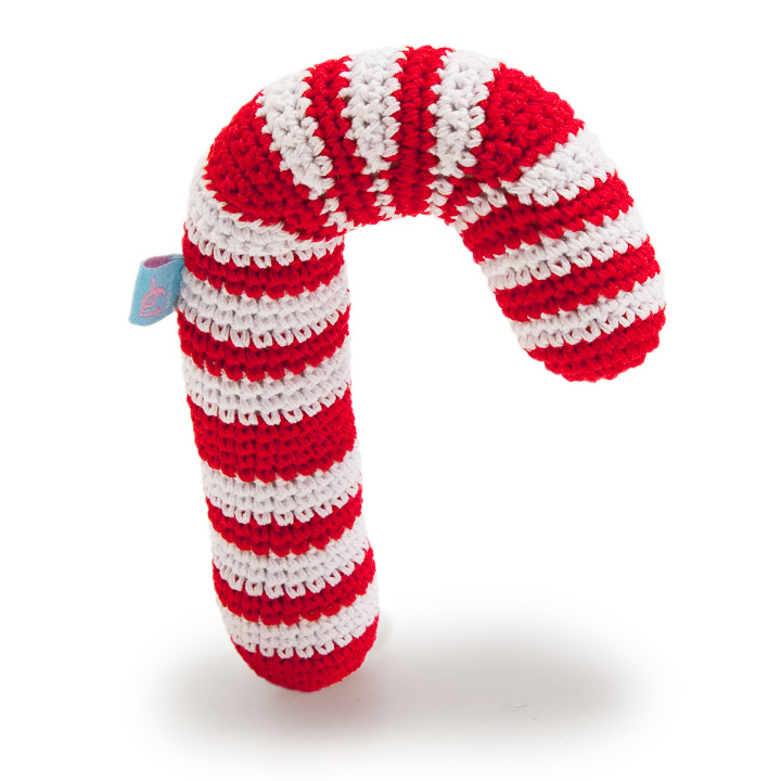 Crochet Candy Cane Pattern Crochet Squeaky Toy Candy Cane