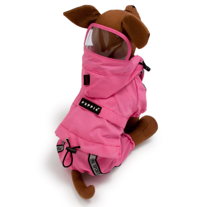 Race Track Raincoat for dogs